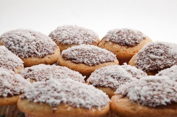 Kókuszos muffin - Egészségséfünk receptje