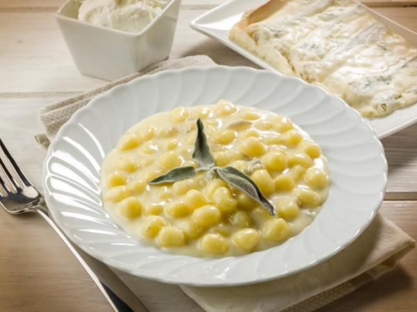 Tárkonyos-sajtos gnocchi - Egészségséf