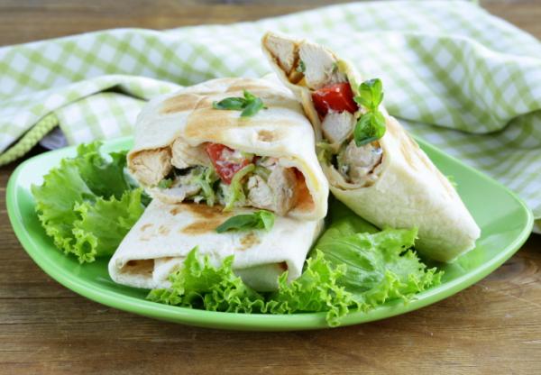 Csirkés tortilla - Egészségséfünk receptje