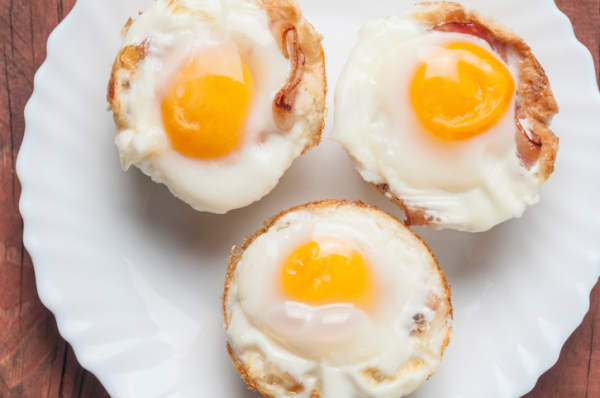 Reggeli tojás muffin - Egészségséf