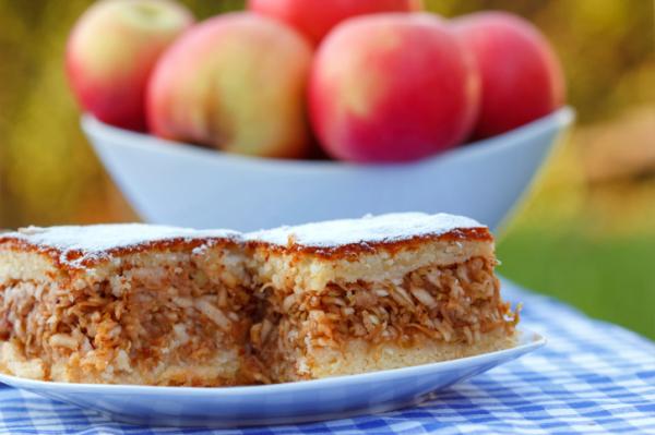 Almás-sütőtökös pite - Egészségséf