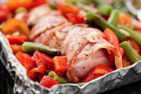Csirkemell őzgerincben - Egészségséf