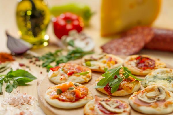 Mini pizza - Egészségséfünk receptje