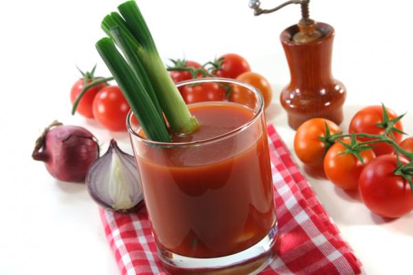Zelleres paradicsomlé - Vitaminkoktél