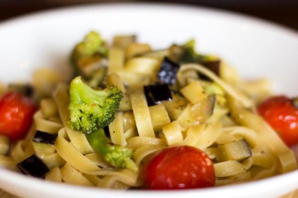 Zöldséges tagliatelle - Egészségséfünk receptje