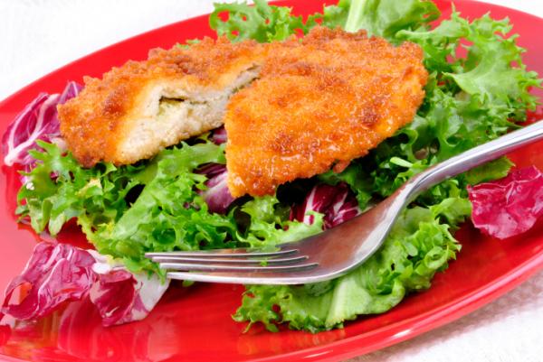 Sajtkrémmel töltött csirkemell - Egészségséf