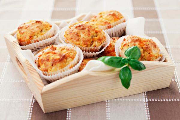 Dupla sajtos muffin - Egészségséfünk receptje