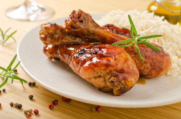 Mézes-mustáros csirkecombok - Egészségséfünk receptje
