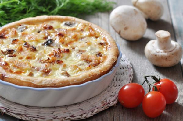 Csirkés-gombás pite - Egészségséfünk receptje