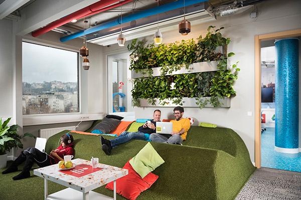 Ilyen környezetben bárki szívesen dolgozna - Google iroda Budapest