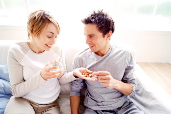 A férfinak is segíthet a várandós vitamin