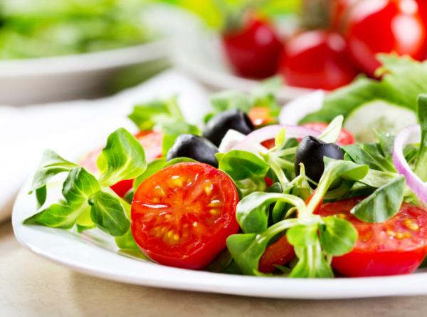 Tavaszi saláta grépfrútos öntettel - Egészségséf