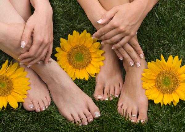 A tavaszi lábápolásról dióhéjban