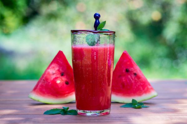 Dinnyés, körtés koktél - Egészségséf